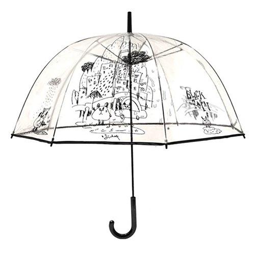 小克_聋猫/透明雨伞/素描