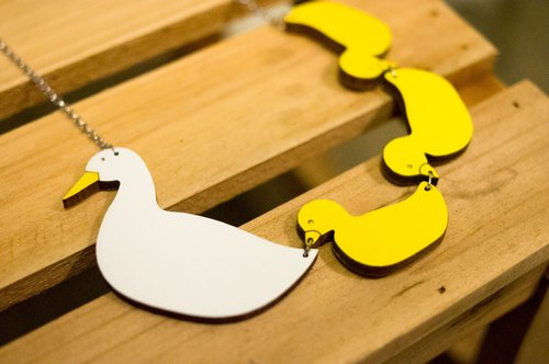 小鸭头饰手工制作过程