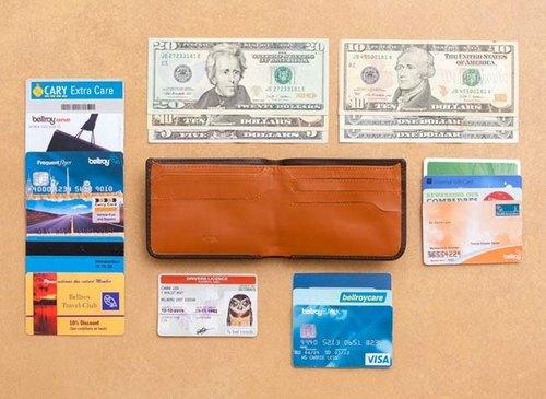 澳洲 Bellroy Hide & Seek wallet經典橫式真皮皮夾  (Java 爪蛙咖) By plain-me