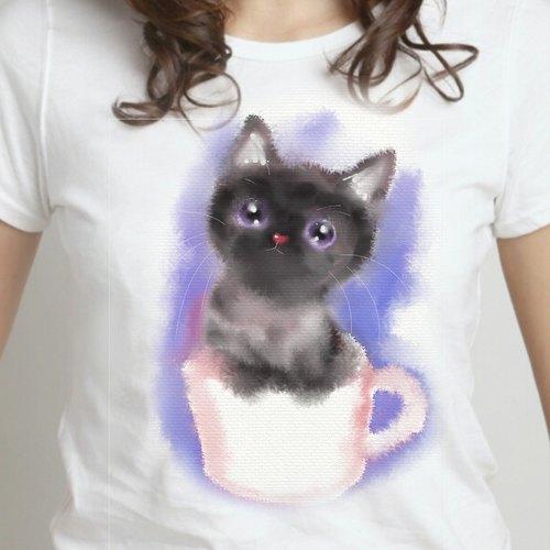纸杯动物的手工制作方法小猫