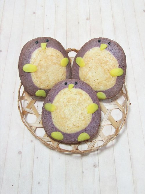 手作烘焙坊 企鹅宝宝造型手工饼干