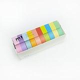 mt 和紙膠帶 10色盒裝組【明色(MT10P003)】