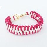 紅白雙色編織