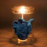 EYE LAB 藍色心臟罐裝香氛蠟燭