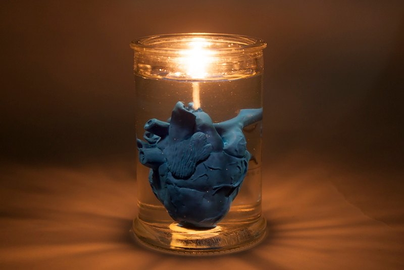 Heart in Jar Candle – EYE LAB
