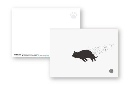 silhouette life 剪影生活明信片 - 剛洗好的床包