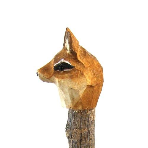 复古手工木头雕刻原