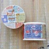 Aimez le style 寬版和紙膠帶 (04567 標籤&織布)