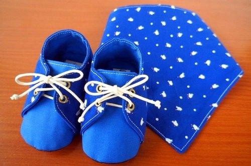 自制宝宝鞋样图纸