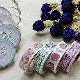 amifa 和紙膠帶 4入組【French Girly 法式甜點+蝴蝶結 (27914)】