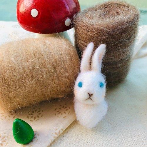 超轻粘土小动物 平面小兔子