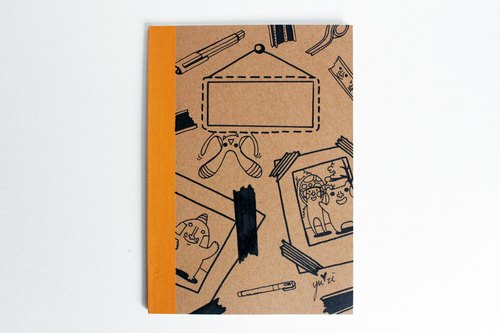 纪录*手绘笔记本
