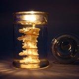 EYE LAB 白色脊椎罐裝香氛蠟燭