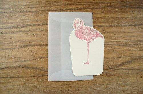 MINI CARD-霧透迷你萬用卡 (附霧透小封筒) ---丹頂鶴  (限量)