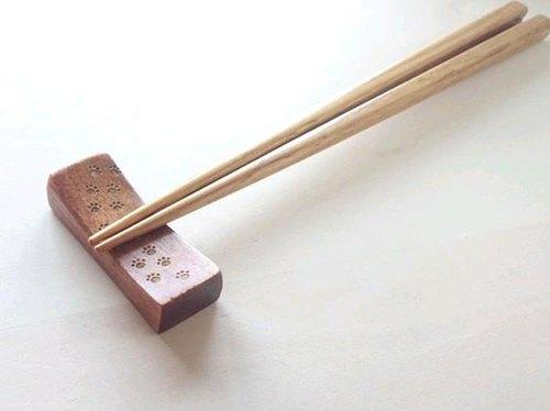 肉球脚印 筷架(长方形)
