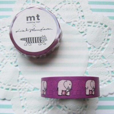 mt 和紙膠帶 mt x Lisa Larson【Elephant(MTLISA03)】