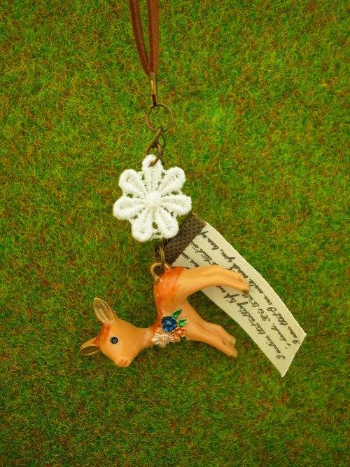 《森林小動物系列》小鹿項鍊