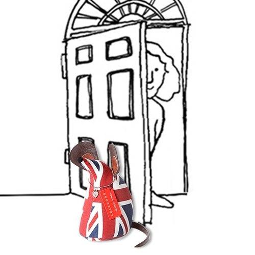老鼠造型动物门档-英国国旗