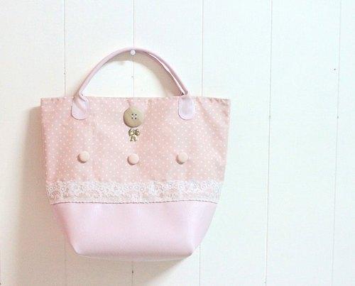 公主蕾丝手提包