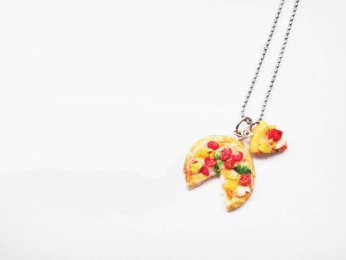 熱騰騰披薩項鍊