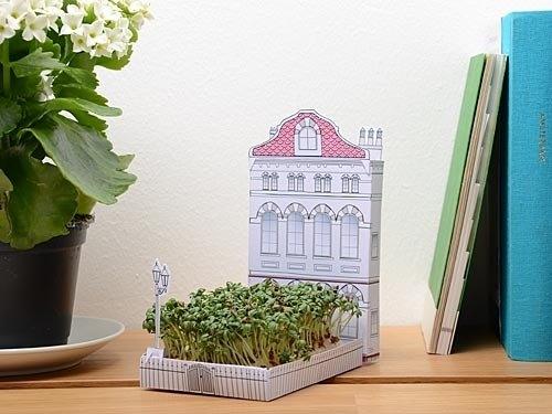 火柴盒花园-英式住宅(粉红屋顶)