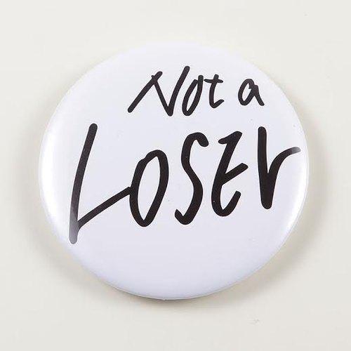 《Foufou》胸章Pins(58mm) - Not a Loser