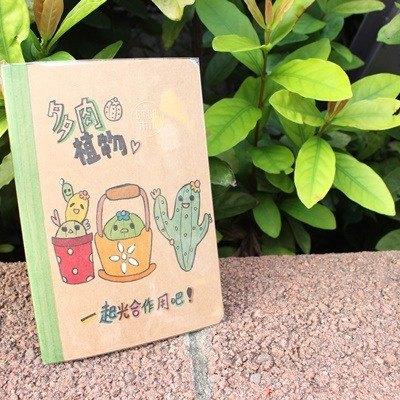 多肉植物们/手绘笔记本