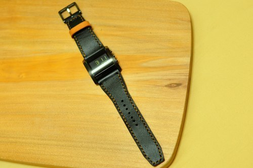 台灣手縫皮件工作室◎改造錶帶示範:DKNY