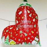 日本 amifa Xmas 聖誕禮物袋.束口袋【聖誕襪(28690)】