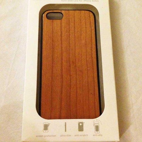 iphone 5/5s 木制手机壳