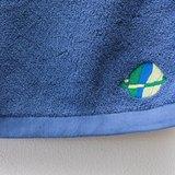 彩色星球厚絨深藍毛巾 ❁