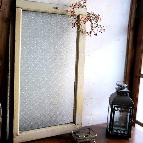 日本 古董老窗户/复古玻璃窗