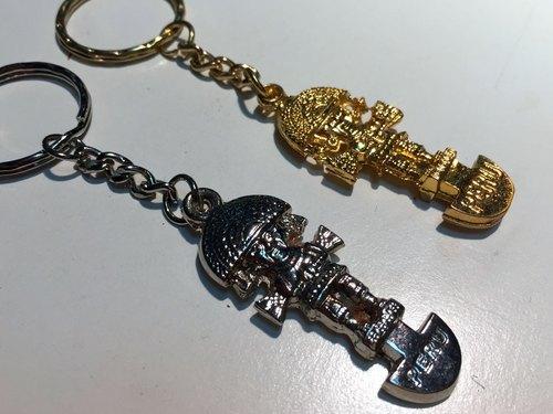 TUMI 祕魯金屬鑰匙圈-金/銀