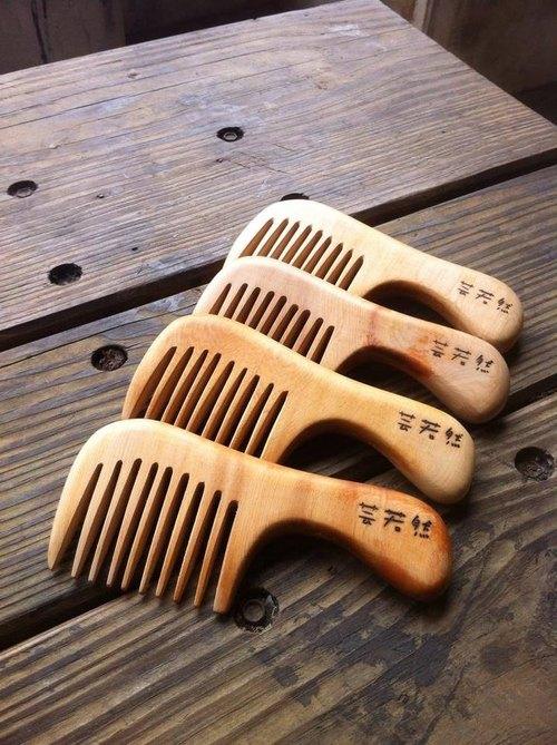 臺灣檜木梳(扁梳)