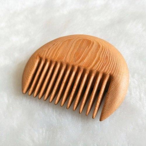 le圆形梳(台湾桧木材质)