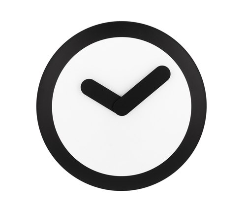 NeXtime - Focus Silver 搖擺鐘 - 黑色