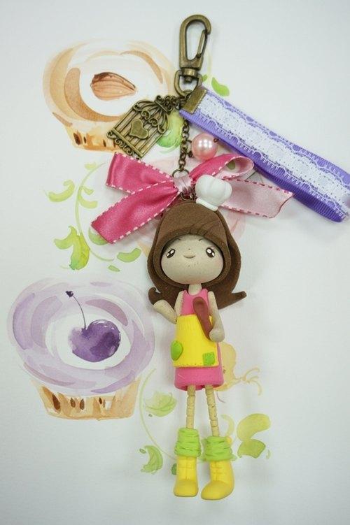 girl可爱模样 森林里的小动物们纷纷上门选购 对koli 娃娃的吊饰 可