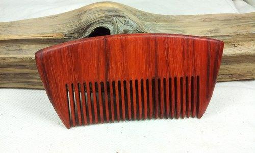 红花梨木大直排梳 - 就是爱木头 | pinkoi