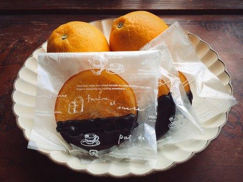 橙片巧克力