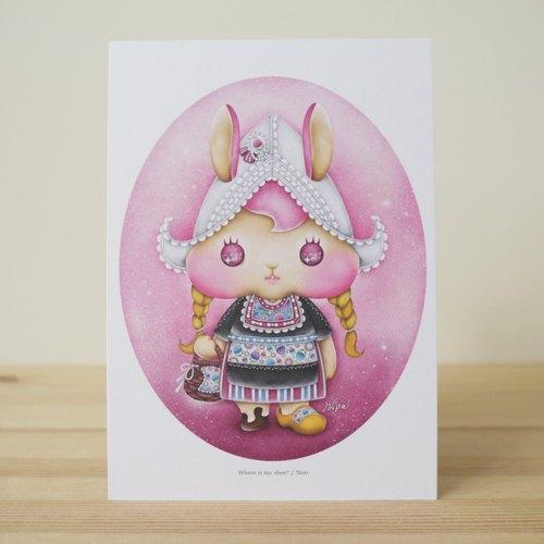 荷蘭兔Nini 明信片