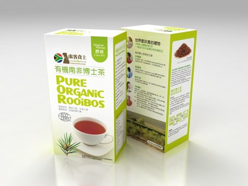 來客食上有機南非博士茶2.5G*20入/盒(無咖啡因幫助入眠)-organic rooibos-通過安全檢驗