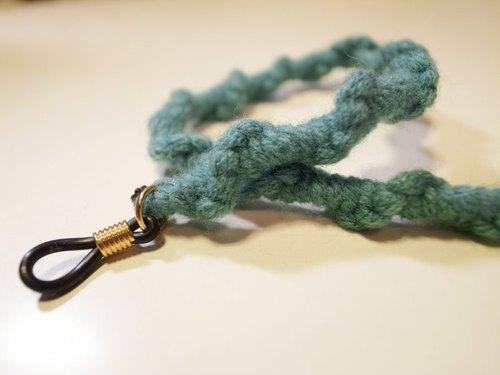 普魯士藍編織後腰帶(一抹微笑T專屬飾品)
