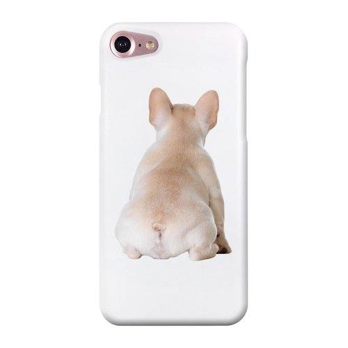 【汪星人 毛小孩 法斗犬d 白】iphone 6s/6s plus,3d立体浮雕打印