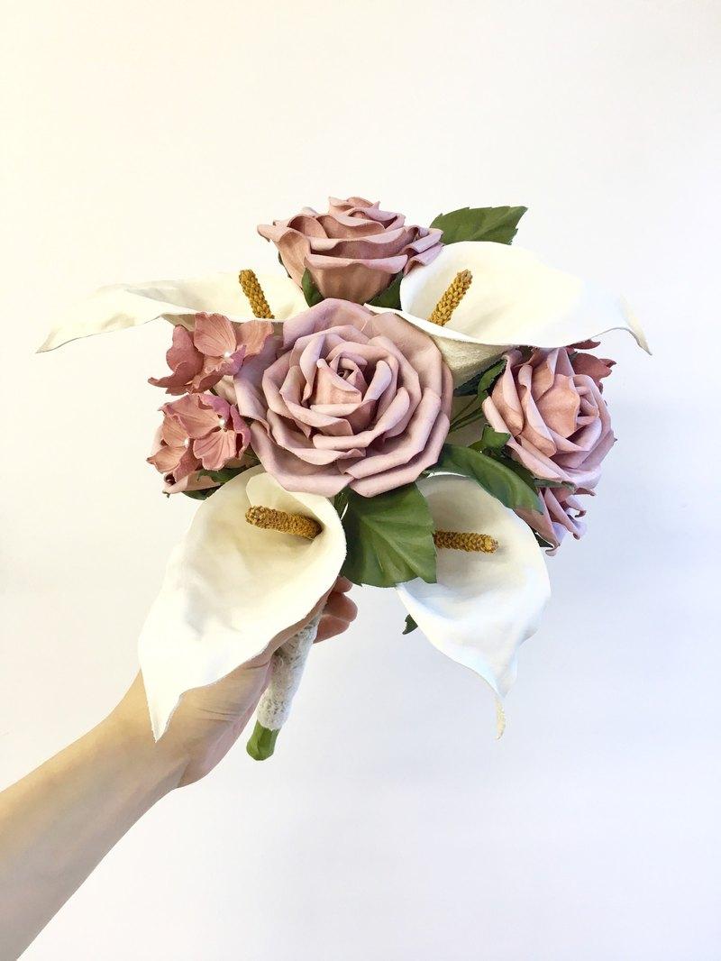 Leather Flower Ball Charis Designer Jkcollection Pinkoi
