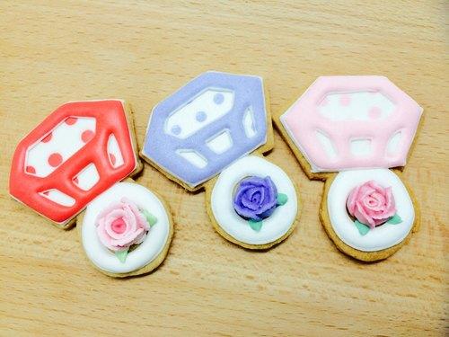 Poker Dots Lover 婚禮餅乾(單片)糖霜餅乾 新人婚禮 婚禮禮物 TFD