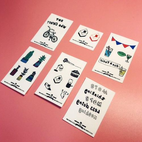 D.W.L [解憂雜貨店]紋身 紋身貼紙 刺青 刺青貼紙 tattoo tattoos