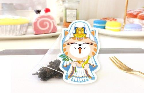 《貓癡茶》好神保庇 系列單品茶包|觀音 - 保庇培韻鐵觀音
