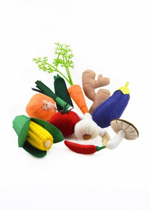 幼儿园蔬菜洋葱手工