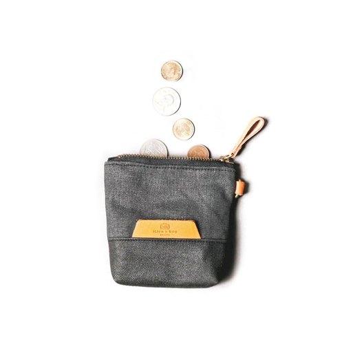 點子包【icleaXbag】皮革個性零錢包,收納包,小菸袋 DG23