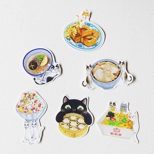 Fish cat/貼紙包/演奏包7款入